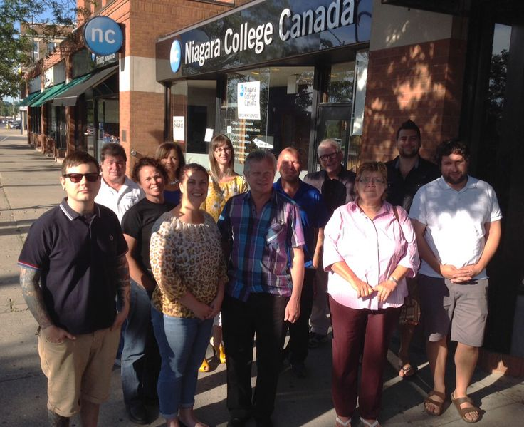 The Niagara College Business Development Centre Networking Cafe - a great way to connect with people and generate business opportunities! July 2015 and the last Thursday of every month.