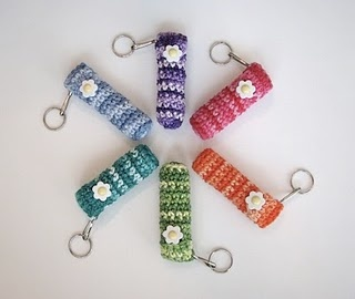 Chapstick cozy - I totally need one of these