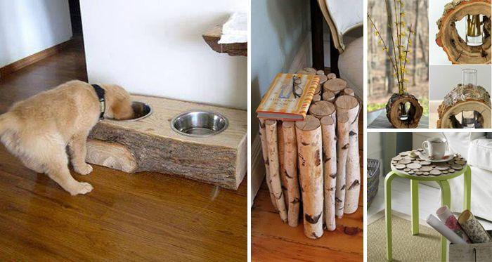 Ak chcete zmeniť vzhľad vášho intriéru, no nechcete veľké zmeny a minúť veľa peňazí, máme pre vás úžasné nápady na dekorácie vyrobené z dreva. S týmito inšpiráciami neminiete veľa peňazí a budete mať doma niečo originálne.