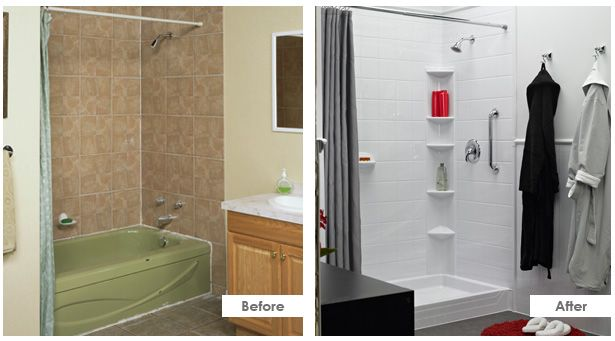 Bath Fitter Before And After Let Astrong Construction