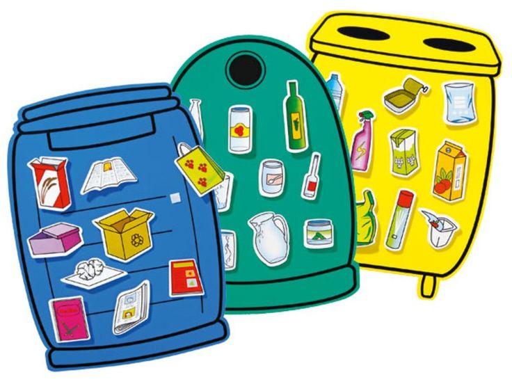 JEU Recyclage des déchets