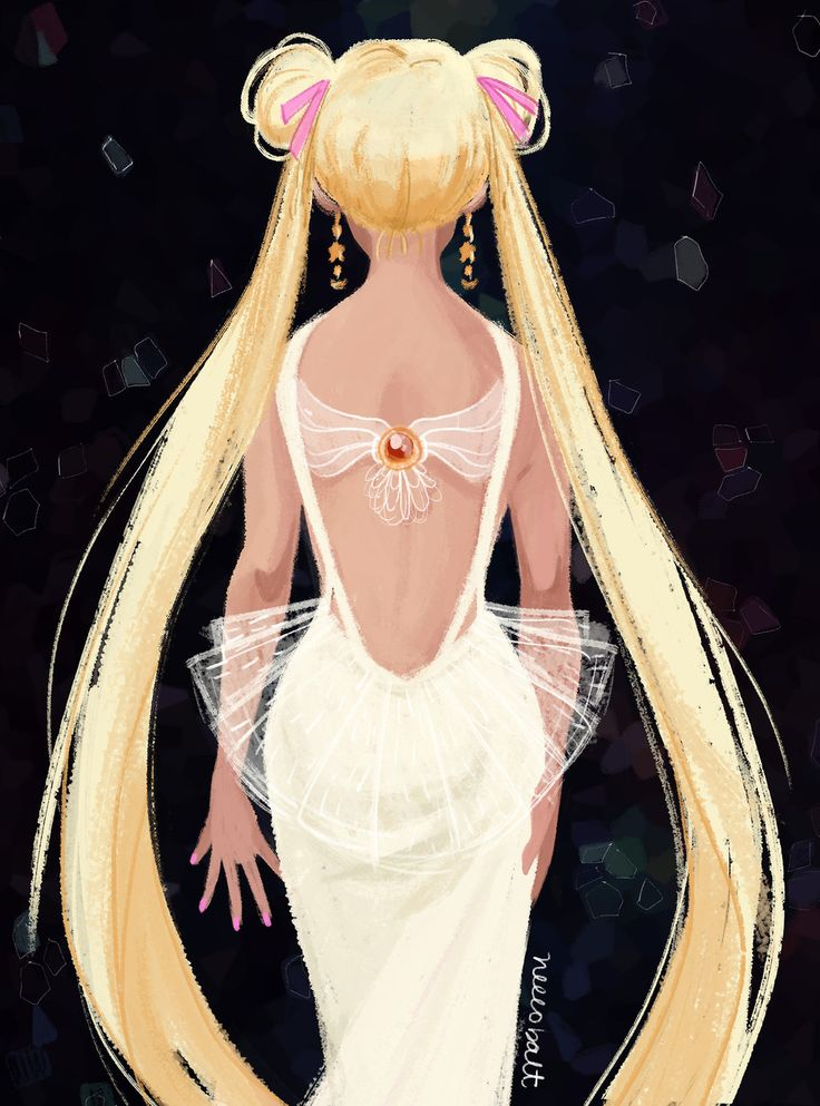 [FA] Sailor Moon: Princess Serenity Re-design by neecobalt.deviantart.com on @deviantART