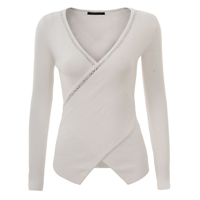 Women Sweater Pullover Lady Spring Summer Knitted Sweater Sexy Jumper Women Tops