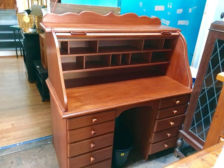 roll top desk  | eBay