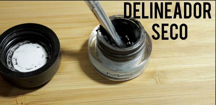 Repara tu delineador seco. #DIY