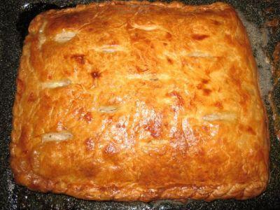 Очень вкусный пирог вареная курица