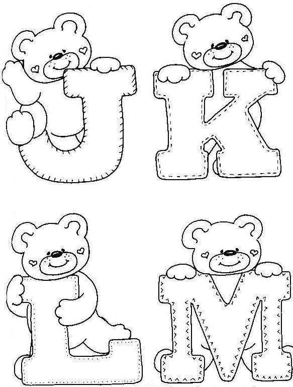 Best 25+ Moldes de letras infantiles ideas on Pinterest