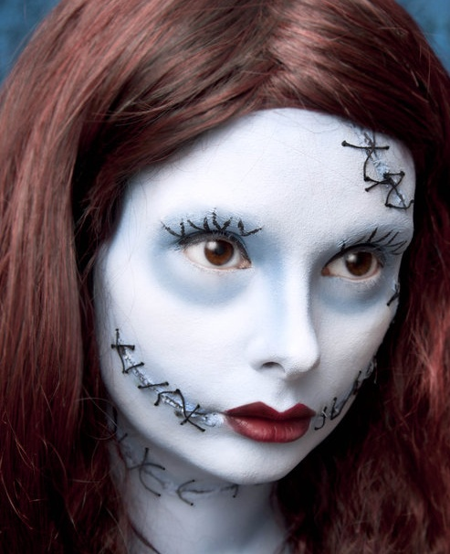 Sally by *Skwawesome could incorporate this type of makeup