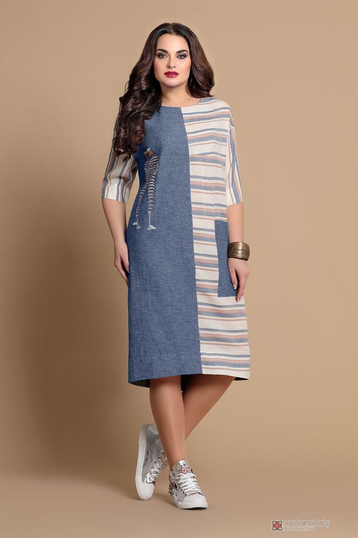 Летнее платье Мублиз 089