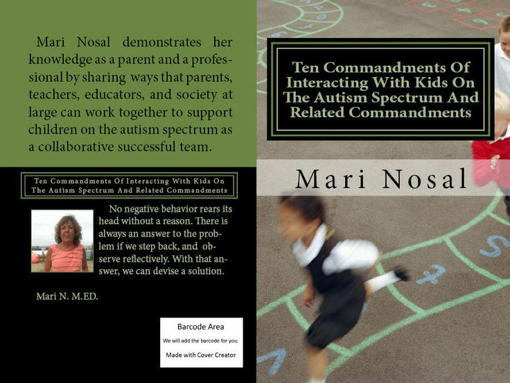 COPIES SIGNED BY THE AUTHOR ON EBAY. UNSIGNED COPIES AVAILABLE ON AMAZON AT LOWER PRICETen Commandments Of Interacting With Kids On The Autism Spectrum And Related Com