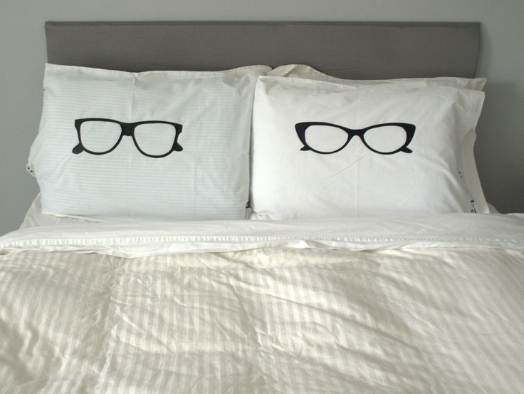 His and Hers Pillows Cool Pillow Cases Glasses Pillow Unique Pillow Case Set Love Pillow Cases & 127 best Cool Pillows images on Pinterest | Food pillows Cushions ... pillowsntoast.com