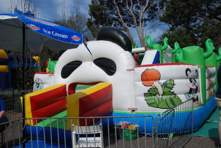 Panda obstacle course