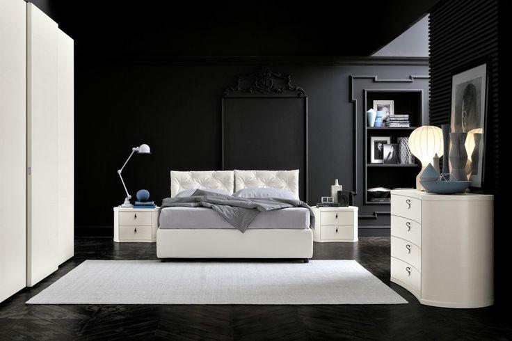 Bianco Puro Gallery Bed | ColombiniCasa