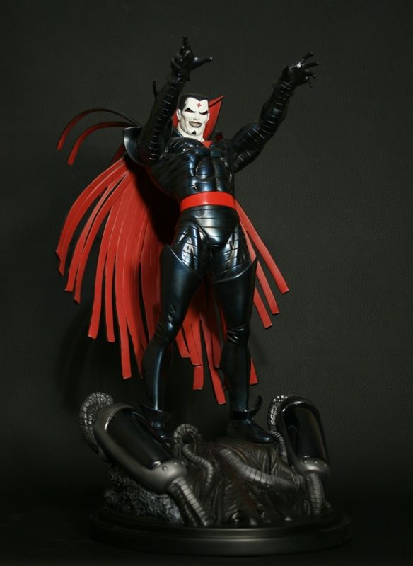 Mister Sinister statue  Sculpted by: Seth Vandable    Release Date: June 2009  Edition Size: 900