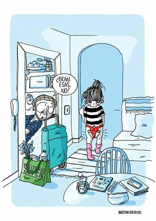 """""""Diario de una volátil"""" by Agustina Guerrero jajajaja esas toallas que parecen pañales"""