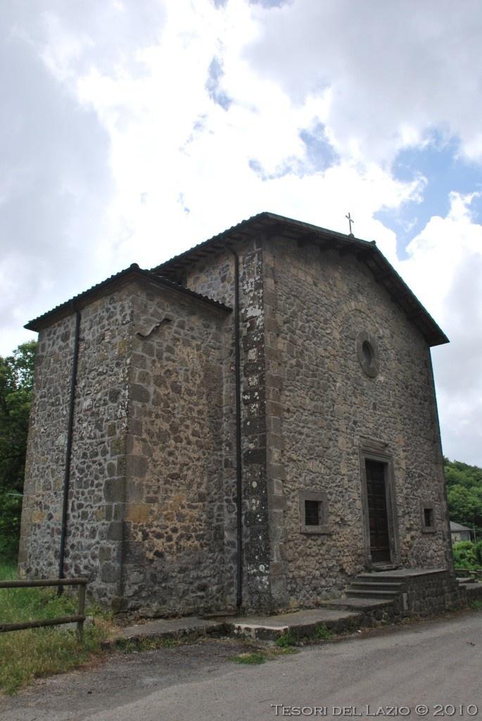 #Latera (Viterbo), #Lazio - Chiesa di San Sebastiano - Photo M. Pesci (06-2010)  - © All rights reserved - Tesori del Lazio