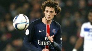 PSG's Talented Midfielder Adrien Rabiot