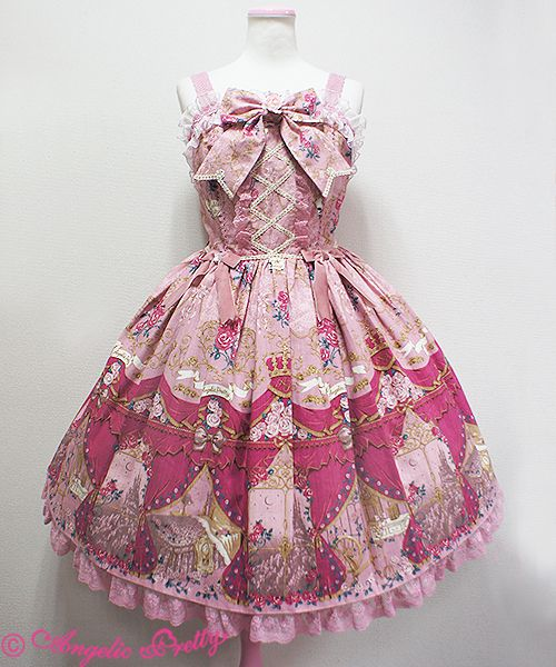 Angelic Pretty True Rose Storyジャンパースカート