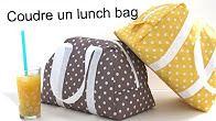 Un sac pour pour transporter son déjeuner en toute sécurité. Le patron est disponible sur le site de Mouna Sew . Il suffit de le commander après inscription, et vous le recevrez dans votre boite mail. Le tutoriel vidéo est très facile à suivre. Bonne...