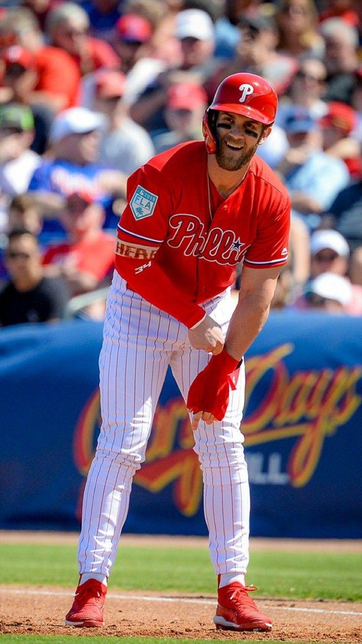 Phillie Phanatic Wears Shoes With Bryce Harper S Face On Them Phillies Phillies Baseball Philadelphia Phillies Baseball