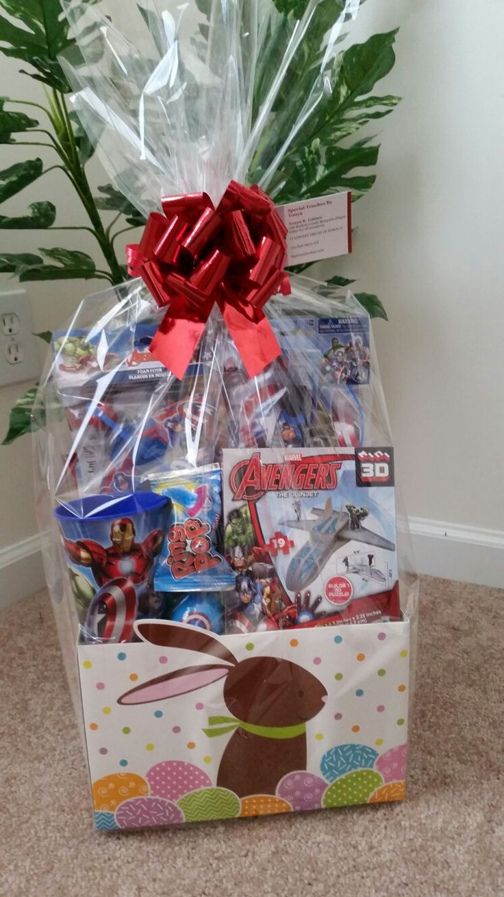 31 best any occasion gift baskets images on pinterest gift avengers easter basket negle Choice Image