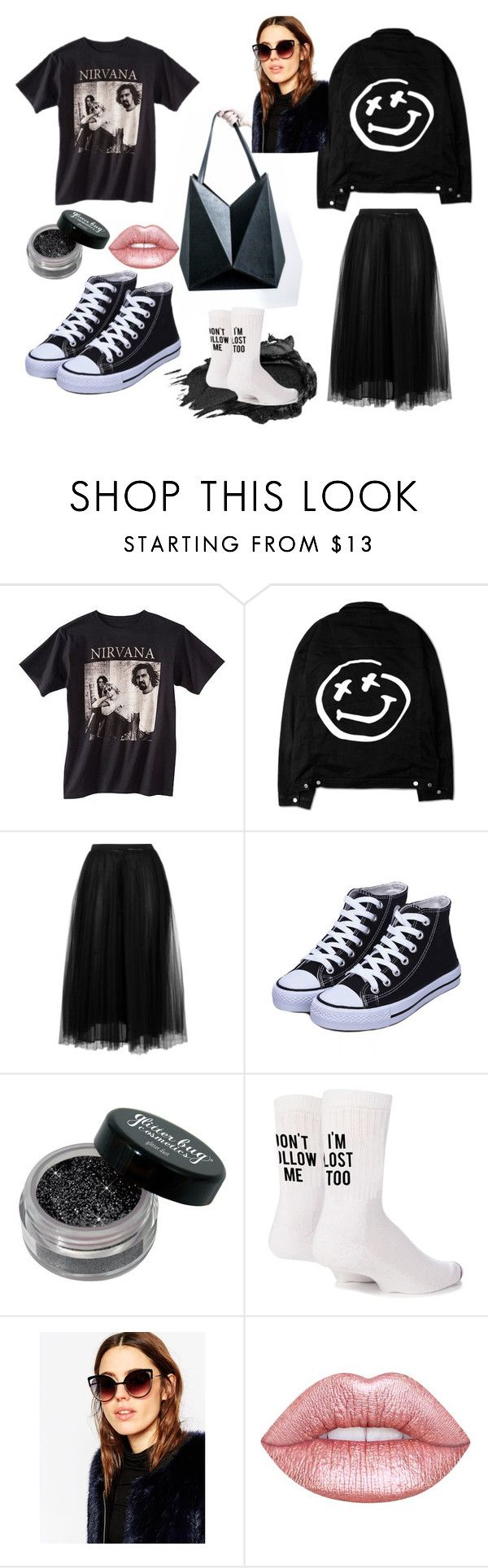 """""""#untitled5"""" by yuna92 on Polyvore featuring Valentino, Urban Decay, Yeah Bunny, ASOS and Lime Crime"""