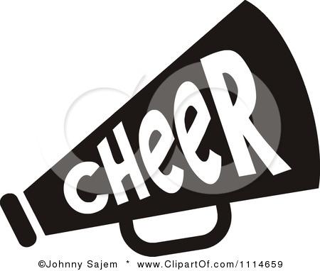 Cheer Megaphone Clip Art | Royalty-Free (RF) Cheer Megaphone Clipart, Illustrations, Vector ...