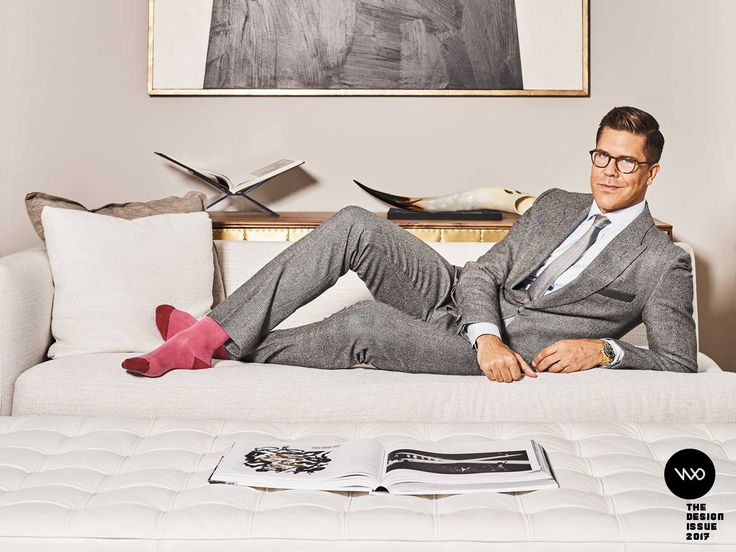 The Art of Selling Homes That Don't Yet Exist |   | Credit:Fredrik Eklund reclining in the penthouse of 11 North Moore Street, currently listed at $30 million. | From WIRED.com