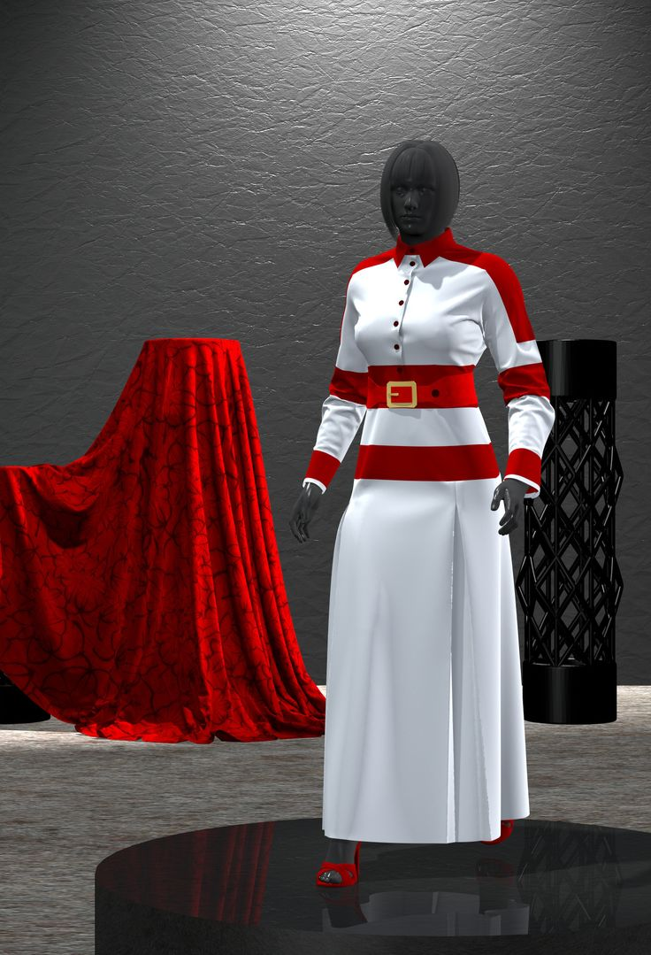 3D Fashion, Marvelous designer, CLO 3D Fashion Dresses