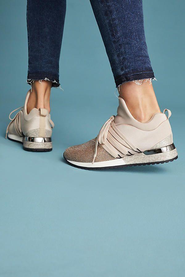 J/Slides Zorro Metallic Sneakers