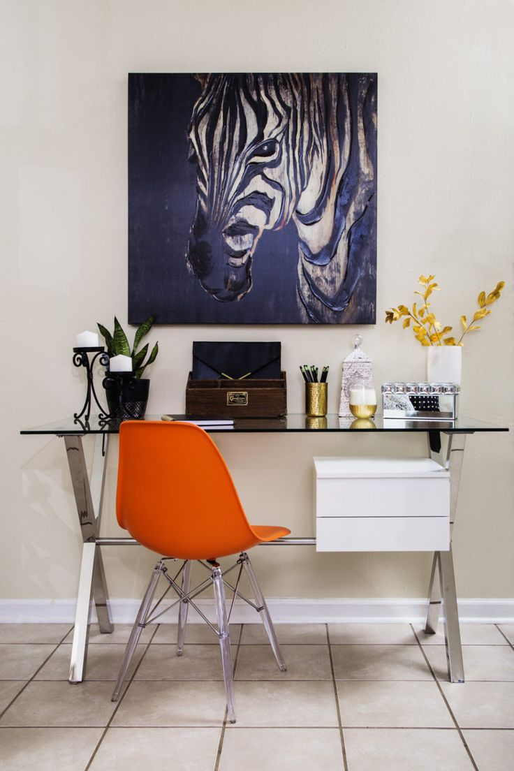 Home Office Glass Desk 318 best home office lookbook images on pinterest | desk, office