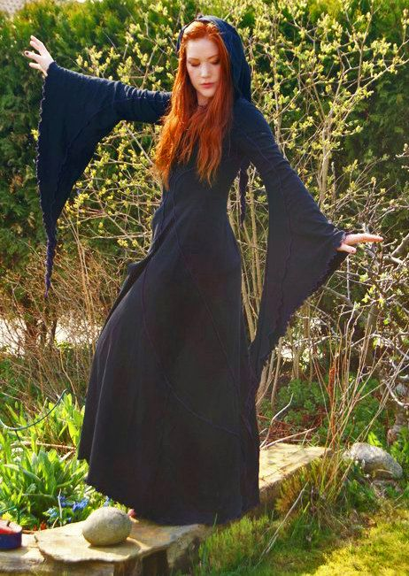 Savannah Dester Coat - Cotton Jersey - Long Summer Coat - Custom Made to Order - Faery - Gothic - Bridal - Goddess Wear.. £100.00, via Etsy.