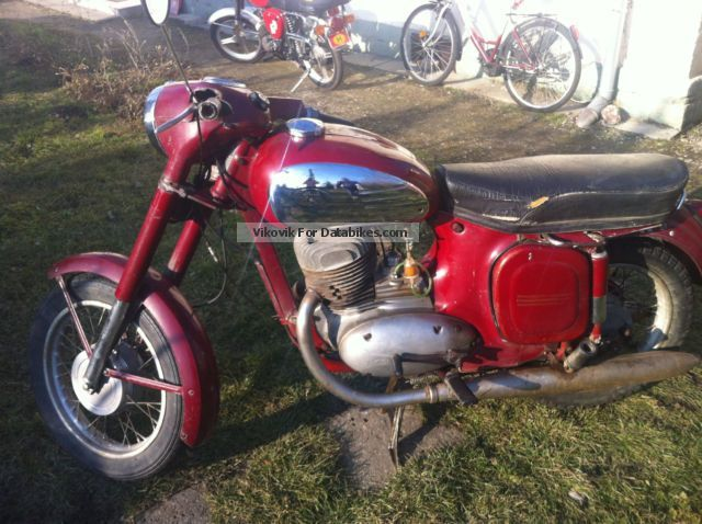 Jawa  559 1971 Vintage, Classic and Old Bikes photo