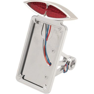 SIDE-MOUNT DECO TAILLIGHT WITH LICENSE PLATE MOUNT