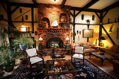 safari living room | Safari Themed Interiors Living Room Decorating Theme Pic #16