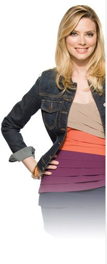 April Bowlby - Drop Dead Diva. Blonde highlights by Judy Kasai