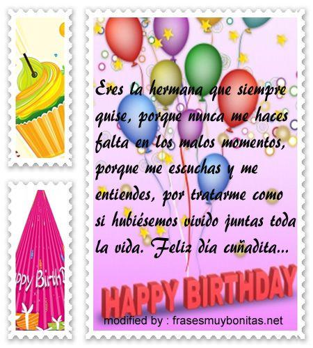 descargar tarjetas de cumpleaños con imágenes para enviarle a tu cuñada,poemas muy bonitos de saludos de cumpleaños para mi cuñada