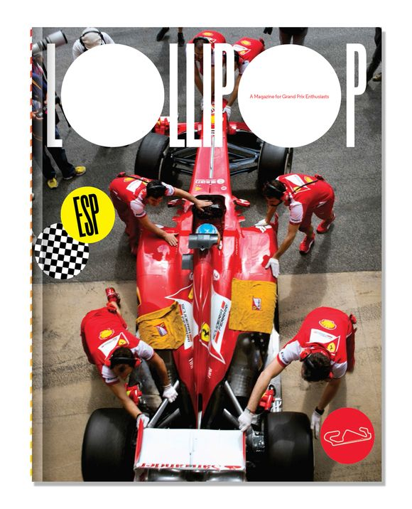 Lollipop Magazine Brings a Unique Take on F1 Racing