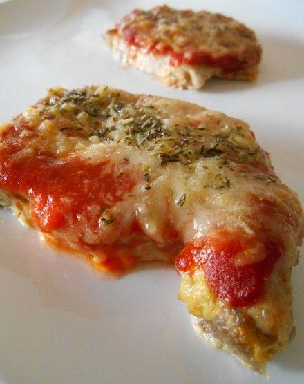 Côte de porc gratinée tomate & comté