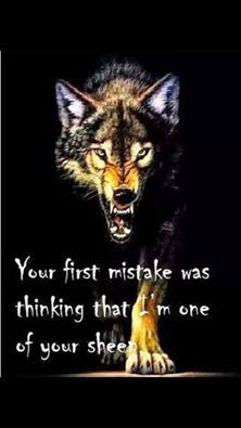 I disguise myself well and play head games better i am one of the most dangerous creatures keep that in mind next time you try to piss me off