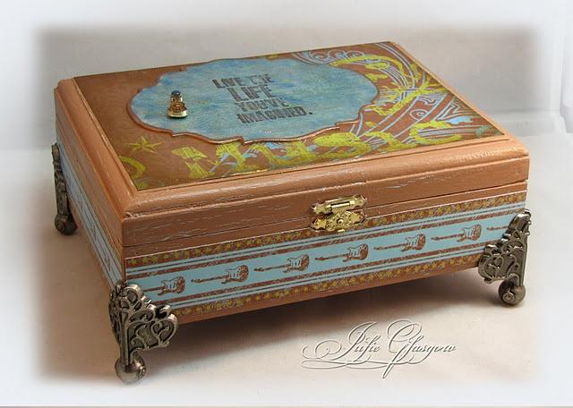 220 best cigar box crafts images on pinterest cigar box for Cardboard cigar box crafts
