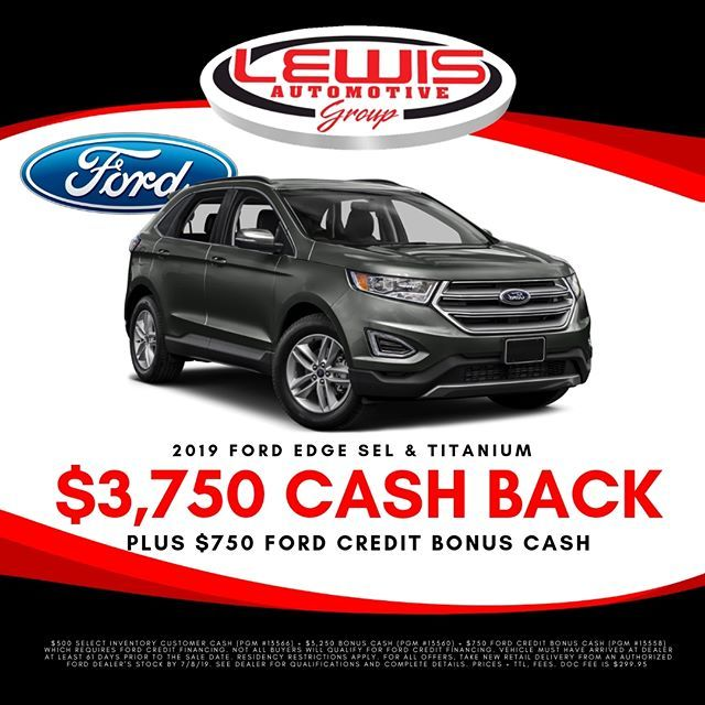 There S Still Time To Get 3 750 Cash Back On A New Ford Edge