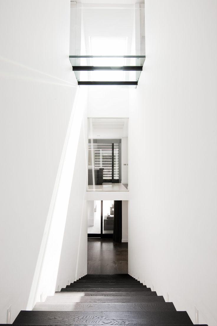 55 beste afbeeldingen over trap op pinterest modellen gangen en amsterdam - Model interieur trap ...