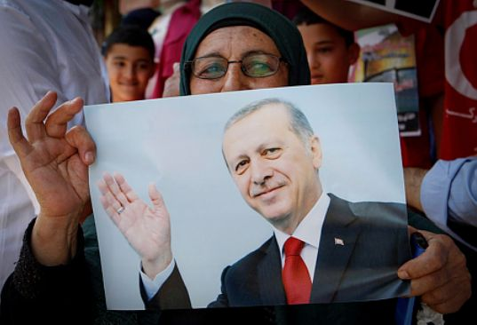 Turkey's President Recep Tayyip Erdoğan has established his role as the leader of the Arab-Islamic protest against the US recognition of Jerusalem as Israel's capital. His newfound fame is clearly visible in the region, with worshipers on Temple Mount chanting his name. {PROPHECY: JERUSALEM 'A CUP OF TREMBLING' IN THE 'LAST DAYS' - Zechariah 12:1-6; Luke 21:24}   Psalm 122:6 'Pray for the peace of Jerusalem: they shall prosper that love thee""