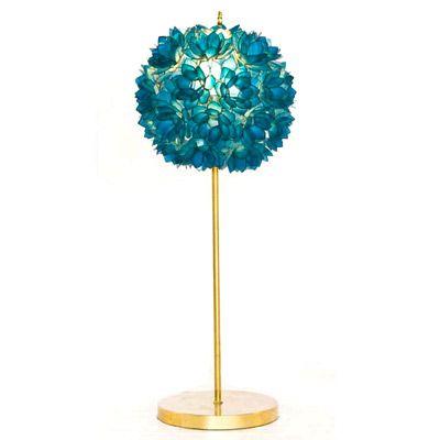 Worlds Away Venus Table Lamp Turquoise @Lisa Phillips-Barton Choe Simple November 2010