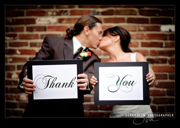 Give a thank you speech with your spouse. | 31 Tips To Make Sure You Enjoy Your Wedding Day