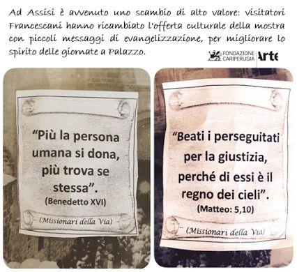 "#SuccedeAncheQuesto alla mostra ""A Gerusalemme! Immagini dei Francescani in Terra Santa"" ad #Assisi"