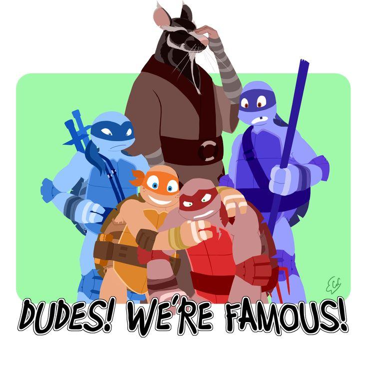 Dudes, We're Famous! T-Shirt Design by =ChanceofClouds on deviantART