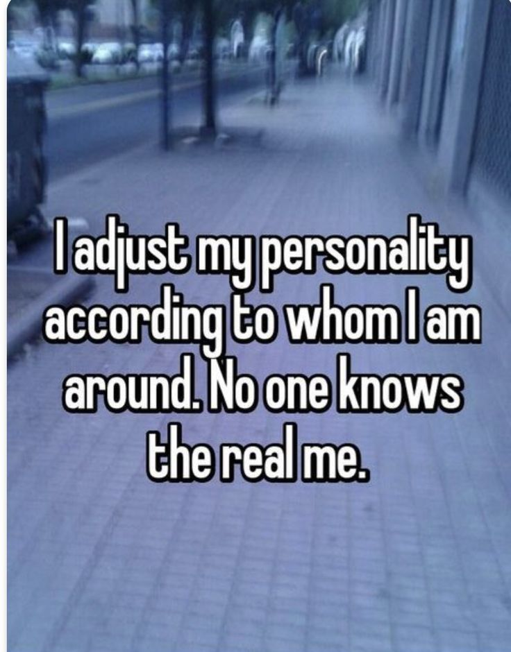 Only two people really did know me...and they're gone.