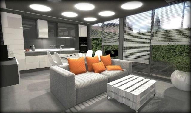 2. Wnętrze zaprojektowane przez Dariusza Nadzieja ze studia projektowego Vista Design